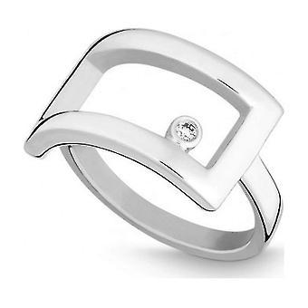 كوين -- حلقة -- فضة -- الماس -- وز. (ح) - عرض 56 - 211116