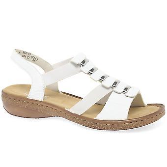 Rieker Trim женский ремень обратно сандалии