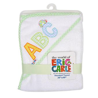 Eric Carle Hungry Caterpillar Hooded Towel