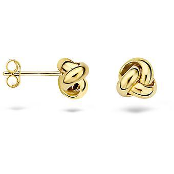 Blush 71579YGO Earrings - Yellow Gold 6/7 mm