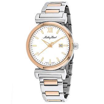 Mathey Tissot Men's White Dial Watch - H410BI