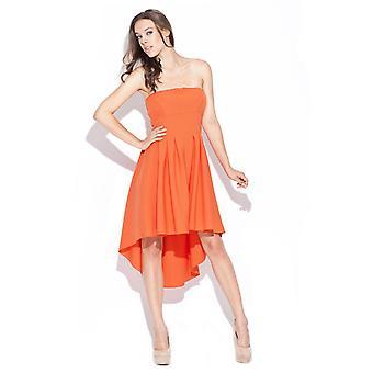 Vestidos de katrus naranja