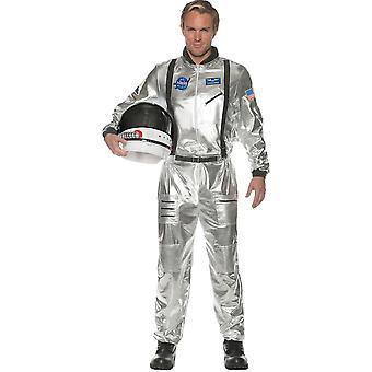 Astonaut Costume Adult Silver