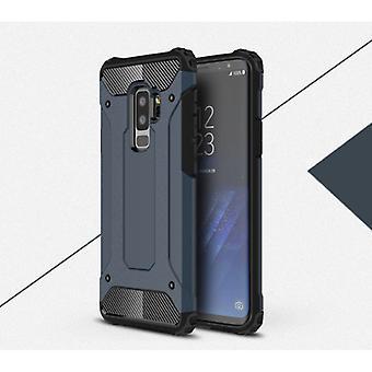 Saker certifierade® Samsung Galaxy S6 - Armor Case Cover Cas TPU Mål Navy