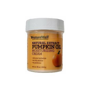 NatureWell Natural Extract Pumpkin Oil Moisturizing Cream 16 oz/454 g