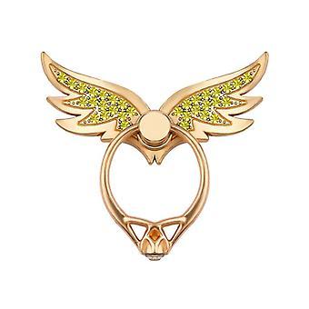 Bakeey bling bling vleugel 360 graden rotatie vinger ringhouder desktop kickstand voor iPhone xiaomi