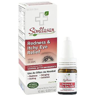 Similasan redness & itchy eye relief, 0.33 oz