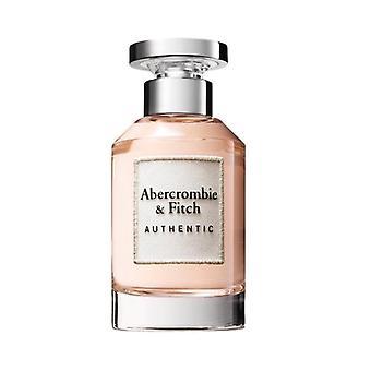 Abercrombie & Fitch Autentiska kvinnor Eau de parfum spray 100 ml