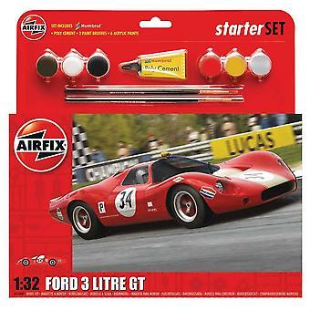 Airfix A55308 1:32 Ford 3 Litre GT Starter Set Model Kit