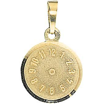 Orologio di bambini rimorchio battesimo 333 satinato oro giallo oro bambino trailer