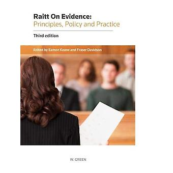 Evidence - Principles - Policy and Practice by Eamon Keane - 97804140