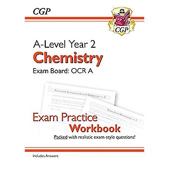 New A-Level Chemistry for 2018 - OCR A Year 2 Exam Practice Workbook -