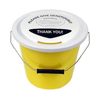 10 hyväntekeväisyyteen rahaa kokoelma kauhat 5 litraa - keltainen