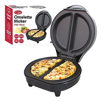 700W Breakfast Omelette Maker Cool Touch Automatic Thermostat Non-Stick Plates