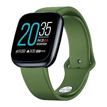 Zeblaze Crystal 3 Smartwatch Smartband Smartphone Fitness Sport Activity Tracker Watch IPS iOS Android iPhone Samsung Huawei Green