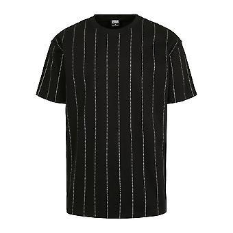 Urban Classics T-Shirt Oversize Pinstripe