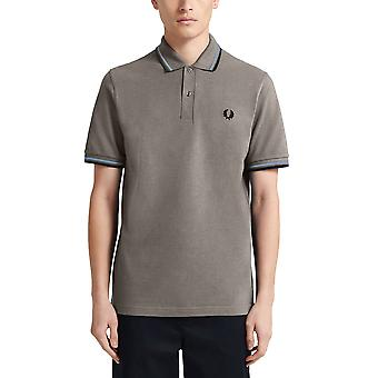 Fred Perry Men's Twin Tipped Polo T- Shirt Regular Fit