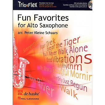 FUN FAVORITES FOR ALTO SAXOPHONE by Adapted by Peter Kleine Schaars