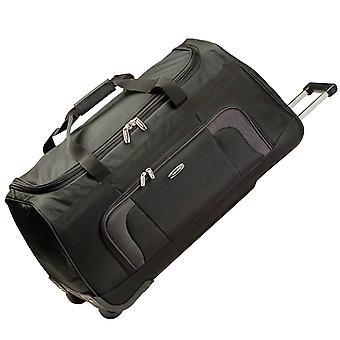 travelite Orlando Trolley Travel Bag L, 2 rullaa, 70 cm, 73 L, Musta