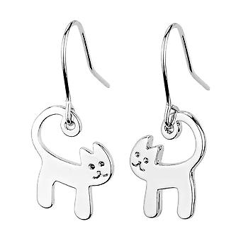 Lucky Cat Drop Earrings