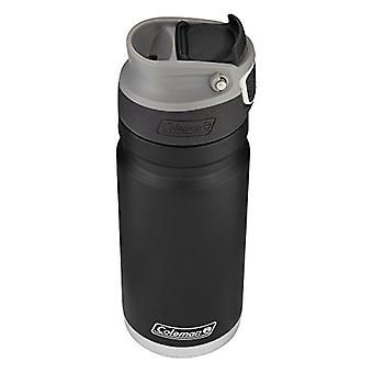 Coleman 2015787 ReCharge AUTOSEAL Insulated Stainless Steel Thermal Mug, Black, 17 oz.