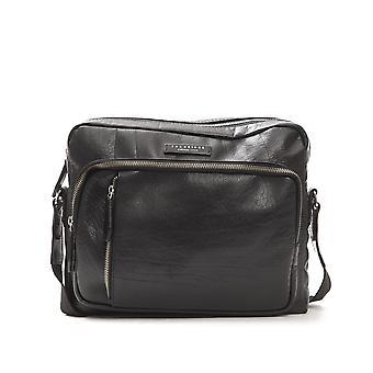 The Bridge Black This Leather Shoulder Bag