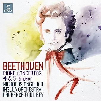 Nicholas Angelich - Beethoven: Piano Concertos Nos. 4 & 5 [CD] USA import