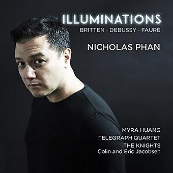 Debussy / Britten / Faure - Illuminations [CD] USA import