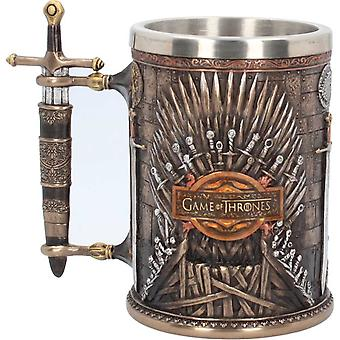 Game Of Thrones Tankard Iron Throne House Sigils Logo new Official Hand Painted
