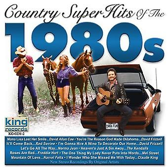 Country Super Hits of the 1980's - Country Super Hits of the 1980's [CD] USA import