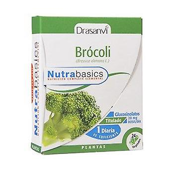 Nutrabasics Broccoli 24 capsules