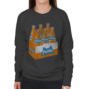 Fanta retro 1960 flaska låda Women ' s Sweatshirt