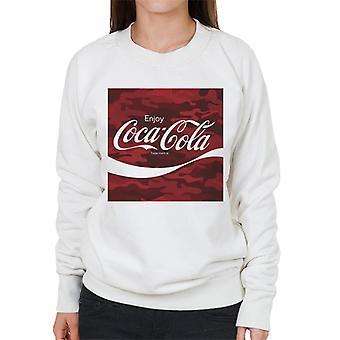 Coca Cola Camo Frauen's Sweatshirt