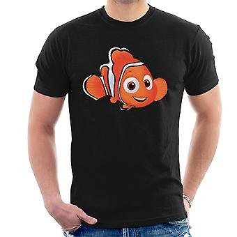 Disney Finding Nemo Brush Art Homme-apos;t-shirt