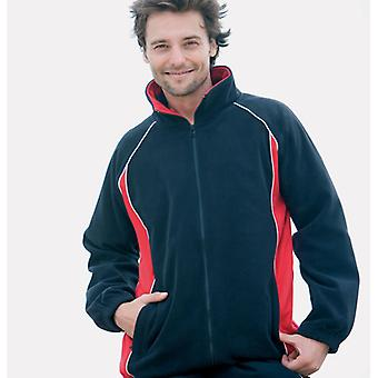 Finden & Hales Piped MicroFleece Jackets