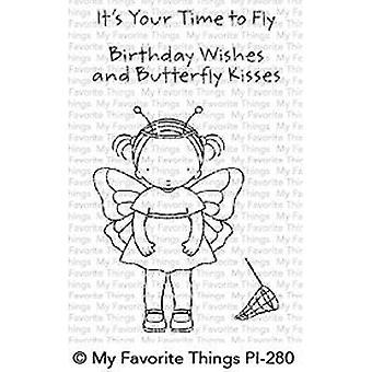 Mis cosas favoritas pura inocencia mariposa besos sellos claros