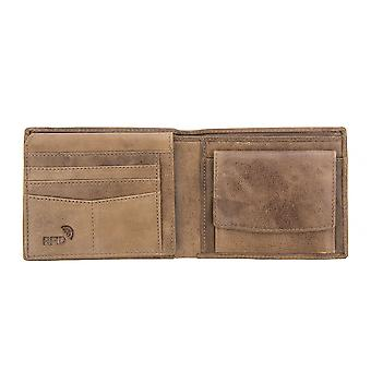 Primehide Mens Leather Wallet RFID Bloqueando Gents Card Holder Notecase 3901