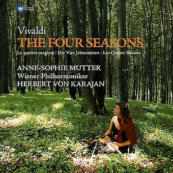 Vivaldi / Mutter / Karajan - Four Seasons [Vinyl] USA import