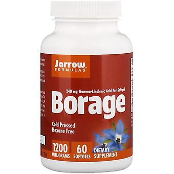 Jarrow Formulas, Borage, GLA-240, 1,200 mg, 60 Softgels