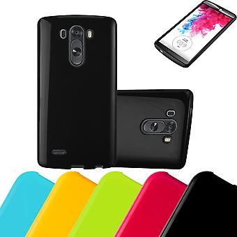 Cadorabo Case for LG G3 Case Cover - Mobile Phone Case made of flexible TPU silicone - Silicone Case Protective Case Ultra Slim Soft Back Cover Case Bumper
