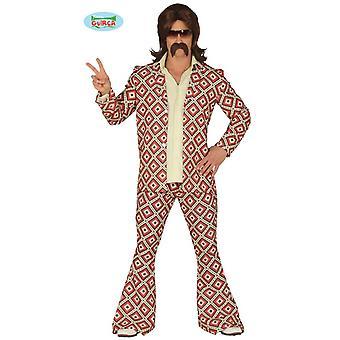 70s disco bailarina traje traje de pantalones para hombre traje disco