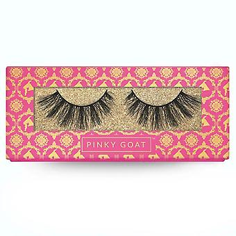 Pinky Goat 3D Silk Collection Handmade False Lashes - Ahdab - Premium Quality