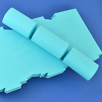 100 Sea Blue Make & Fill Your Own DIY Recycleable Christmas Cracker Boards - Bulk