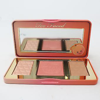 Too Faced Sweet Peach Glow Highlighting Palette  / New With Box
