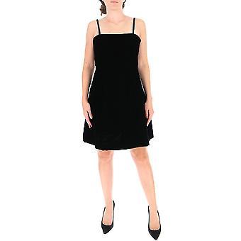 L'autre Koos B151098731au999 Women's Black Polyester Dress