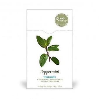 هيث & هيذر-النعناع شاي الأعشاب 50bag