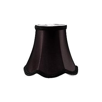 13 Cm Clip-on Fabric Lampshade Black