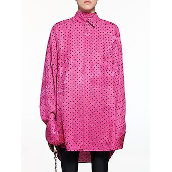 Balenciaga 642258tjlb41401 Damen's Fuchsia Viskose Shirt
