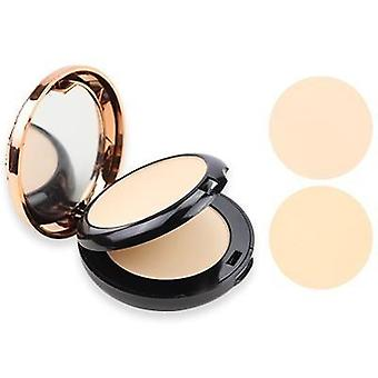 Beauty Glazed Full Coverage Long Lasting Makeup - Face Powder Compact Pressed Powder