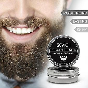 Natural Beard Cream Conditioner Growth Organic Mustache Wax Smooth Styling
